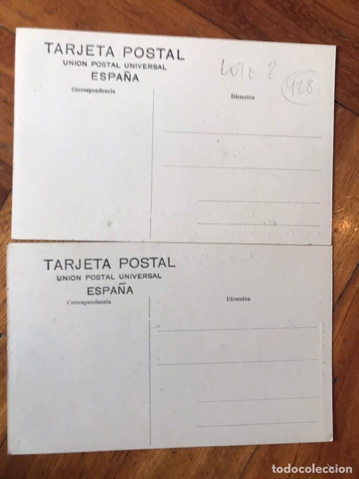Postales: LOTE 2 POSTALES LOGROÑO. VISTA GENERAL Y PUENTE DE PIEDRA. V G Y PUENTE DE HIERRO. HIJOS MERINO - Foto 4 - 202777273