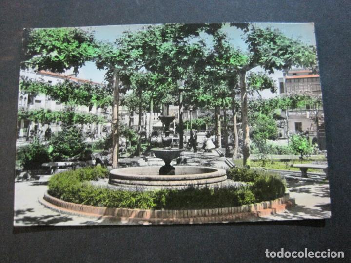Postales: SANTO DOMINGO DE LA CALZADA-JARDINES DEL BEATO J.HERMOSILLA-ED·MONTAÑES-POSTAL ANTIGUA-(70.179) - Foto 2 - 204722502