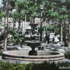 Postales: SANTO DOMINGO DE LA CALZADA-JARDINES DEL BEATO J.HERMOSILLA-ED·MONTAÑES-POSTAL ANTIGUA-(70.179). Lote 204722502