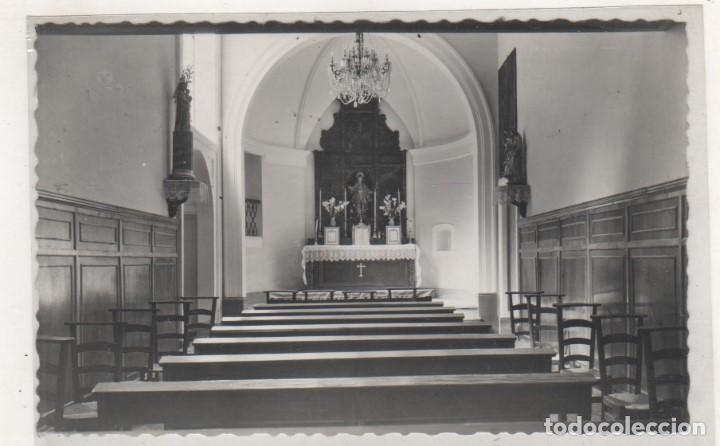 6 BALNEARIO DE ARNEDILLO. CAPILLA. CIRCULADA EN 1956 LOGROÑO. (Postales - España - La Rioja Antigua (hasta 1939))
