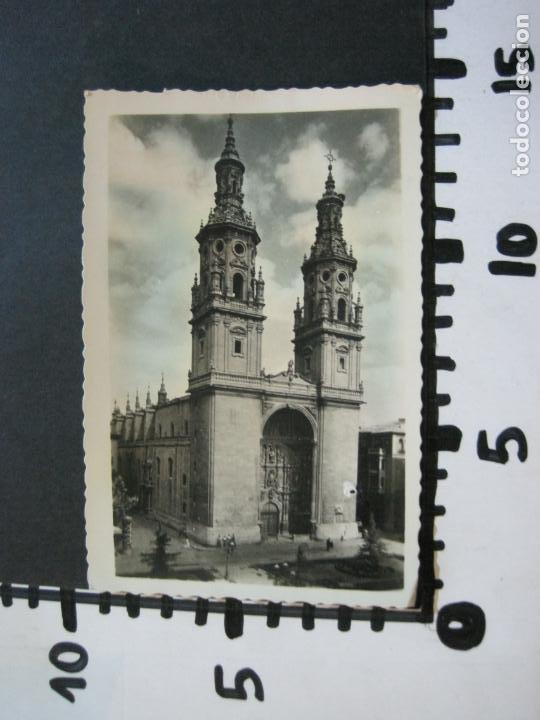 Postales: LOGROÑO-COLEGIATA DE SANTA MARIA DE LA REDONDA-ARRRIBAS EDICIONES-81-POSTAL ANTIGUA-(72.134) - Foto 4 - 209959250