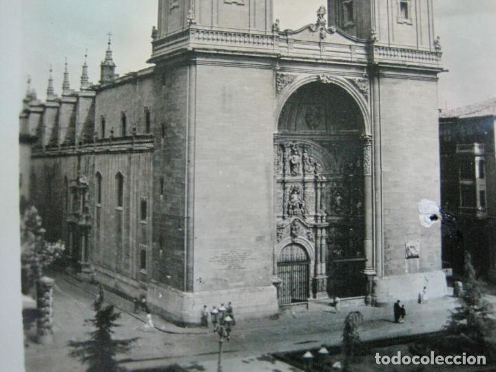 LOGROÑO-COLEGIATA DE SANTA MARIA DE LA REDONDA-ARRRIBAS EDICIONES-81-POSTAL ANTIGUA-(72.134) (Postales - España - La Rioja Antigua (hasta 1939))