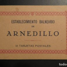 Postales: BALNEARIO ARNEDILLO.(LOGROÑO).- BLOCK 12 TARJETAS POSTALES, ESTABLECIMIENTO BALNEARIO DE ARNEDILLO. Lote 216923988