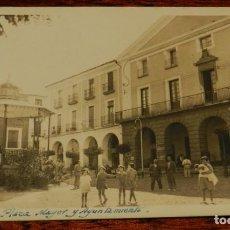 Postales: FOTO POSTAL DE ALFARO. PLAZA MAYOR. FOTO EZQUERRA. NO CIRCULADA.. Lote 219119815