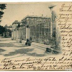 Postales: LOGROÑO. HOTELES, 4 HIJOS DE ALESÓN. HAUSER Y MENET, CIRCULADA. Lote 219517072