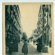Postales: LOGROÑO. CALLE DE SAGASTA II SERIE Nº 9 HIJOS DE ALESÓN. HAUSER Y MENET, CIRCULADA. Lote 219517520