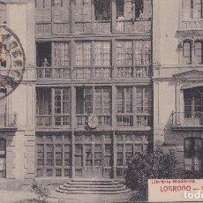 Postales: LOGROÑO (LA RIOJA) - GOBIERNO CIVIL. Lote 222280136