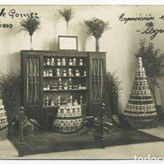 Postales: ANTIGUA POSTAL - LOGROÑO - LA RIOJA - HIJAS GOMEZ TREVIJANO - EXPOSICION REGIONAL - 1925. Lote 222517820