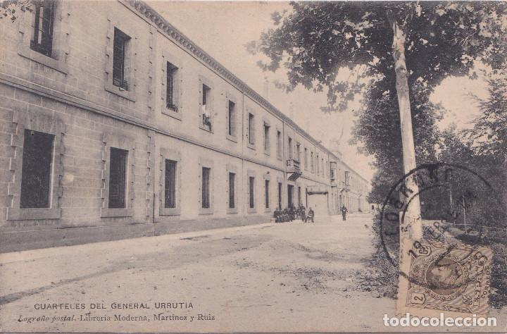 LOGROÑO (LA RIOJA) - CUARTELES DEL GENERAL URRUTIA (Postales - España - La Rioja Antigua (hasta 1939))