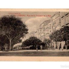Postais: LOGROÑO.- MURO DE DON FRANCISCO DE LA MATA. 21. LIBRERÍA MODERNA.. Lote 233817995