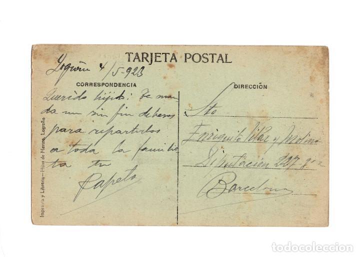 Postales: LOGROÑO.- PASARELA. - Foto 2 - 234750555