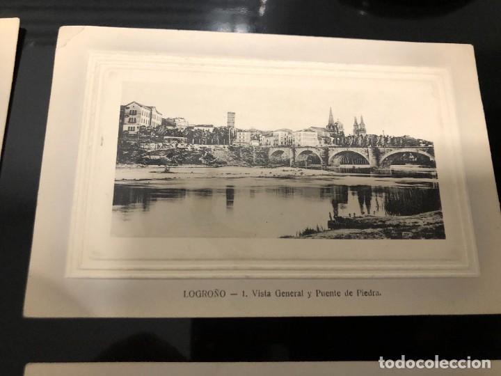 Postales: 4 POSTALES LOGRONO ALREDEDOR DE 1910 - Foto 5 - 241957955