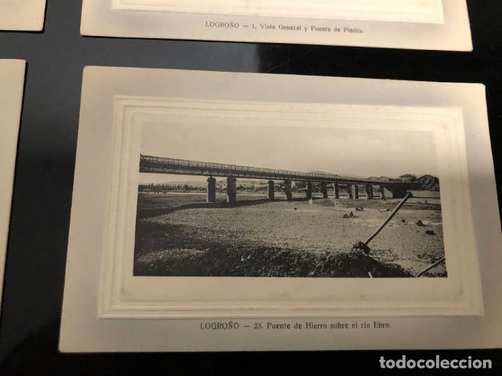 Postales: 4 POSTALES LOGRONO ALREDEDOR DE 1910 - Foto 6 - 241957955