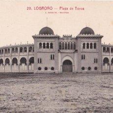 Postales: LOGROÑO, PLAZA DE TOROS. ED. FOTO ROISIN Nº 20. SIN CIRCULAR. Lote 243448740