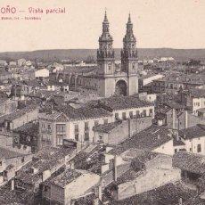 Postales: LOGROÑO, VISTA PARCIAL. ED. FOTO ROISIN Nº 1. SIN CIRCULAR. Lote 243449305