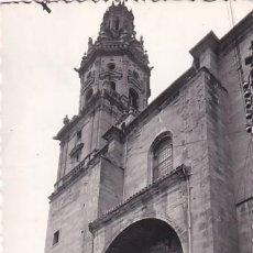 Cartes Postales: HARO 3 FACHADA IGLESIA SANTO TOMÁS. CIRCULADA.. Lote 248249590