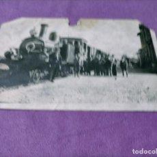 Postales: LA RIOJA ESTACION DE TRENES SANTO DOMINGO DE LA CALZANA 1925. Lote 248733765