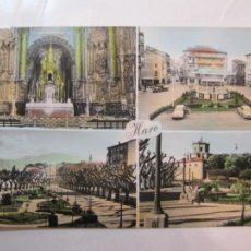 Cartes Postales: HARO-ALTAR MAYOR-PLAZA DE LA PAZ-JARDINES-KIOSCO-EDICIONES PARIS-28-POSTAL ANTIGUA-(78.794). Lote 249571630