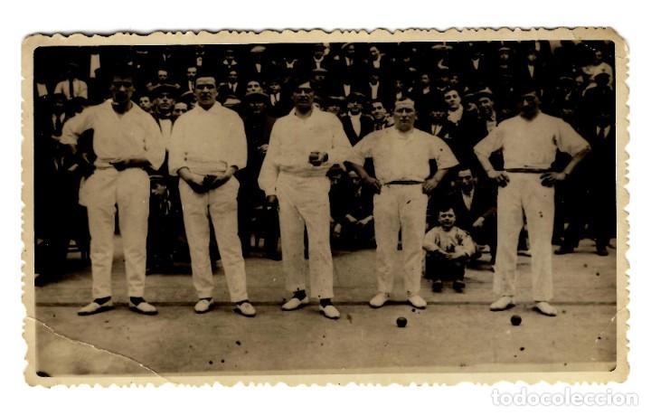 LOGROÑO - FRONTÓN LOGROÑÉS 1925 - 138X87 - ÚNICA - INÉDITA EN TODOCOLECCIÓN (Postales - España - La Rioja Antigua (hasta 1939))