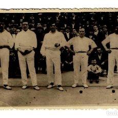 Postales: LOGROÑO - FRONTÓN LOGROÑÉS 1925 - 138X87 - ÚNICA - INÉDITA EN TODOCOLECCIÓN. Lote 251485360