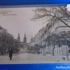Postales: (PS-64736)POSTAL FOTOGRAFICA DE LOGROÑO-MURO DE CERVANTES.HIJOS DE ALESON,LIBRERIA. Lote 253138135
