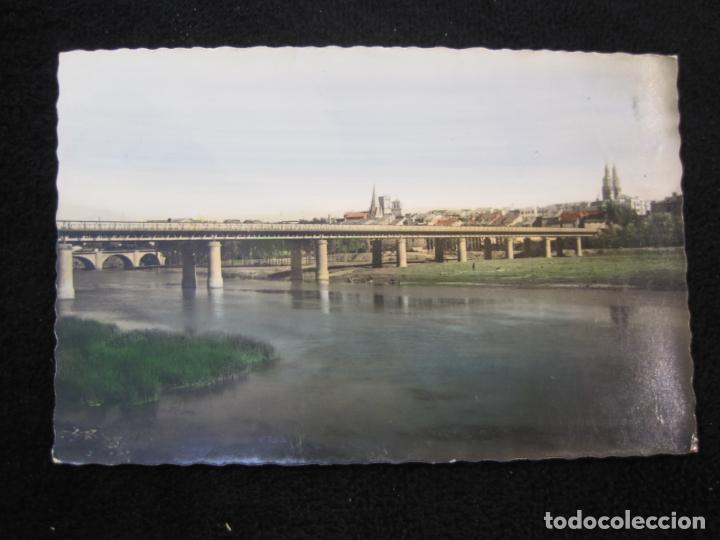 Postales: LOGROÑO-PUENTE DE HIERRO SOBRE EL EBRO-ED·GARCIA GARRABELLA-POSTAL ANTIGUA-(79.678) - Foto 2 - 254267905