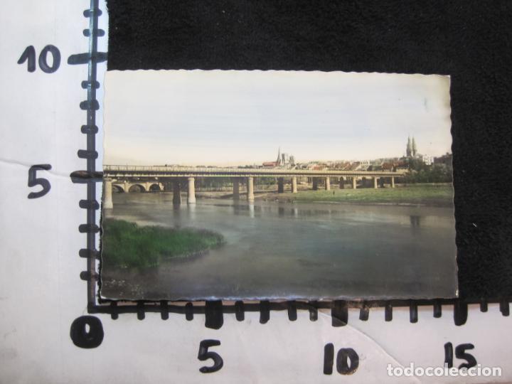 Postales: LOGROÑO-PUENTE DE HIERRO SOBRE EL EBRO-ED·GARCIA GARRABELLA-POSTAL ANTIGUA-(79.678) - Foto 5 - 254267905