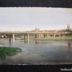 Postales: LOGROÑO-PUENTE DE HIERRO SOBRE EL EBRO-ED·GARCIA GARRABELLA-POSTAL ANTIGUA-(79.678). Lote 254267905