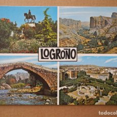 Postales: LOGROÑO. ED. CALPEÑA N. 7442 ED. CALPEÑA. NUEVA. Lote 255525430