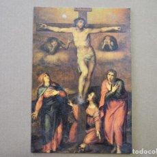 Postales: LOGROÑO CATEDRAL DE LA REDONDA. CALVARIO ATRIBUIDA A MIGUEL ANGEL. NUEVA FOTO A. LÓPEZ OSES.. Lote 255526415