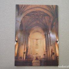 Postales: LOGROÑO. IGLESIA DE SAN BARTOLOMÉ (JESUITAS) VISTA DEL CRUCERO. IMP. MODERNA. NUEVA. Lote 255527075