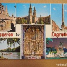 Postales: LOGROÑO. ED. BEASCOA. N. 7446 NUEVA. Lote 255527545