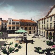 Cartes Postales: ALFARO, PLAZA ESPAÑA. ED. MONTAÑES ZARAGOZA Nº 4. BYN COLOREADA. CIRCULADA. Lote 258179580