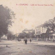 Cartes Postales: LOGROÑO, CALLE DEL GENERAL VARA DE REY. ED. IMPRENTA MODERNA Nº 11. SIN CIRCULAR. Lote 258181280