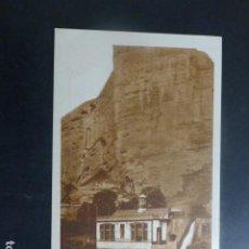 Postales: ISLALLANA LA RIOJA ELECTRA DEL CARMEN Y LA PEÑA POSTAL PUBLICIDAD DIA DEL VINO 1932 AL DORSO. Lote 263884210