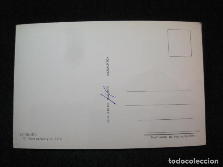 Postales: LOGROÑO-VISTA PARCIAL Y RIO EBRO-EDICIONES SICILIA-12-POSTAL ANTIGUA-(81.322) - Foto 2 - 267098314