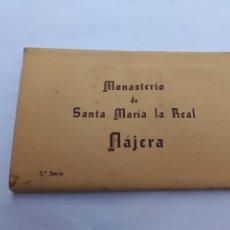 Postales: CUADERNILLO 10 TARJETA POSTAL MONASTERIO DE SANTA MARIA LA REAL NAJERA 3 SERIE EDICIONES MANIPEL. Lote 270152993