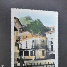 Postales: ARNEDILLO LA RIOJA PLAZA DE LA VILLA. Lote 275185293
