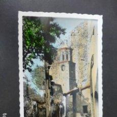 Postales: ARNEDILLO LA RIOJA ACCESO A LA IGLESIA PARROQUIAL. Lote 275185378