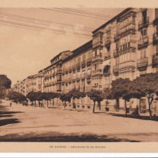 Postales: LOGROÑO CALLE BRETON DE LOS HERREROS. ED. FOTO ROISIN Nº 38. SIN CIRCULAR. Lote 277822468