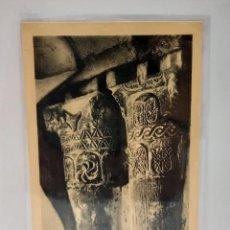 Postales: CAPITELES DEL MONASTERIO DE SUSO, SAN MILLAN DE LA COGOLLA (1932). LOGROÑO (LA RIOJA) - PTC. FUNDA.. Lote 279528023
