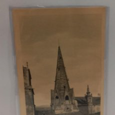 Postales: LOGROÑO (LA RIOJA) - AGUJA DE PALACIO. POSTAL PUBLICIDAD DIA DEL VINO (1932). PTC. CON FUNDA. Lote 279549148