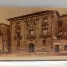 Postales: LOGROÑO (LA RIOJA) - CASA PALACIO DE ESPARTERO. POSTAL PUBLICIDAD DIA DEL VINO 1932. PTC. CON FUNDA. Lote 279550248