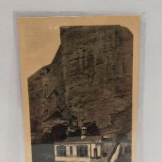 Postales: LOGROÑO (LA RIOJA) - ELECTRA CARMEN Y PEÑA DE ISLALLANA. POSTAL PUBLICIDAD DIA DEL VINO 1932. PTC.. Lote 279550488