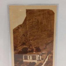 Postales: LOGROÑO (LA RIOJA) - ELECTRA CARMEN Y PEÑA DE ISLALLANA. POSTAL PUBLICIDAD DIA DEL VINO 1932. PTC.. Lote 279550638