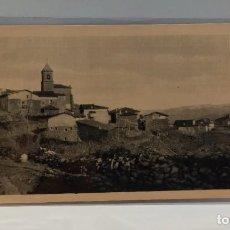 Postales: VISTA DEL PUEBLO DE MURO DE CAMEROS. LA RIOJA. POSTAL PUBLICIDAD DIA DEL VINO 1932. PTC. CON FUNDA.. Lote 279552118