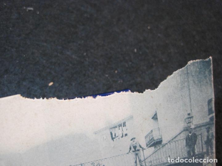 Postales: MUNILLA-PUENTE AYDILLO-PUBLICIDAD CHOCOLATES LA BARCAS-POSTAL ANTIGUA-(83.561) - Foto 3 - 286347818