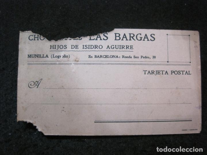 Postales: MUNILLA-PUENTE AYDILLO-PUBLICIDAD CHOCOLATES LA BARCAS-POSTAL ANTIGUA-(83.561) - Foto 5 - 286347818