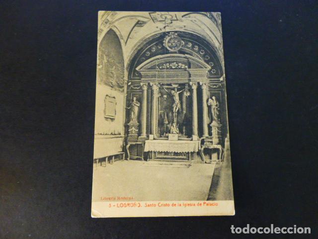 LOGROÑO LA RIOJA SANTO CRISTO DE LA IGLESIA DE PALACIO (Postales - España - La Rioja Antigua (hasta 1939))