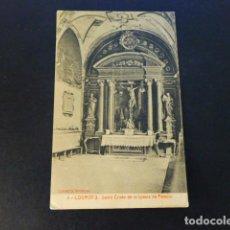 Postales: LOGROÑO LA RIOJA SANTO CRISTO DE LA IGLESIA DE PALACIO. Lote 286745713